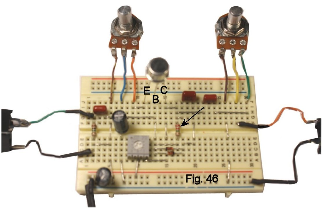 Using A Solderless Breadboard High Gain Darlington Pair Circuit An Interesting Result To My Ears Came From Two Cascaded Transistors Made Low Npn Silicon Dot Feeding The Germanium Device