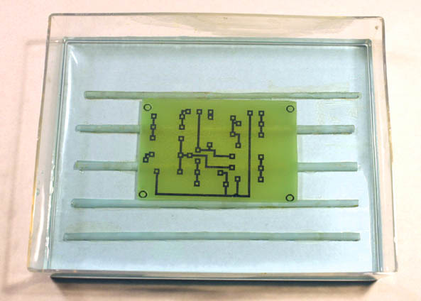 How To Make A PC Board By Direct Etching